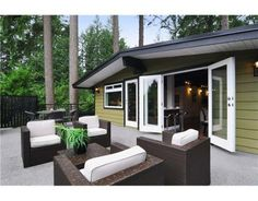 North Vancouver Mid-Century Modern House for Sale. C. 1958 Click on photo for full details.