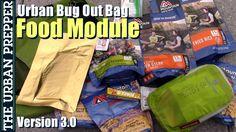 nice Food Module | Urban Bug Out Bag | Version 3.0