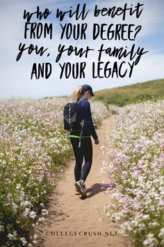 Who will benefit from your degree? You, your family and your legacy. Let's get to work! | college life quotes | summer quotes | freshman tips | college prep | college quotes | social distance quotes | motivational quotes | university quotes | university | sophomore year | freshman year | junior year | senior year | deep thoughts | deep quotes | college life hacks | college life quotes | friendship quotes | via collegecrush.net College Life Quotes, College Life Hacks, Freshman Tips, Freshman Year, Summer Quotes, Junior Year, Friendship Quotes, Deep Thoughts, Motivational Quotes
