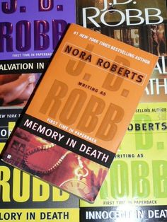In Death Series by JD Robb...  AWESOME!! Probably my favorite I have EVER read!