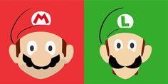 Vetores Grátis Mario e Luige Vetor Download