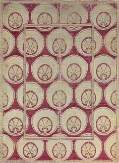 Ottoman Silk Velvet and Metal-Thread Panel, Bursa, Turkey, 17th century, 64.3/4 x 47in. (164.5 x 119.3cm.),