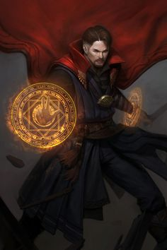 ArtStation - Fan art-Dr.strange, Ji Kwon Jung