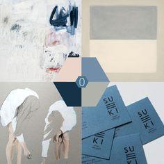 Kleur-palet : Blauw grijze tinten | OCHER