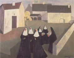 Les Ursulines, 195x, Jean Paul Lemieux