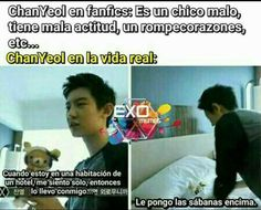 Read EXO from the story Memes de K-pop Bts Y Exo) by dlalpal (Chiquis) with reads. Exo Memes, Baekhyun Chanyeol, Park Chanyeol, K Pop, Drama Memes, Kpop Exo, Chanbaek, Chansoo, Bts And Exo