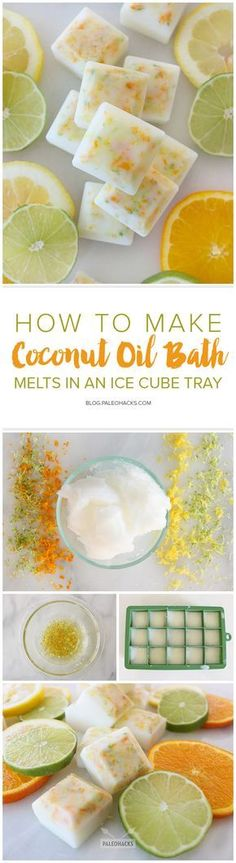 DIY Crafts   Image   Description  Beauty-pin-How-to-Make-Coconut-Oil-Bath-Melts-in-an-Ice-Cube-Tray.jpg