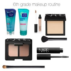 6th grade makeup look by camryn629 on Polyvore featuring polyvore beauty NARS Cosmetics Clean & Clear