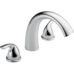 Found it at Wayfair - Classic Double Handle Deck Mount Roman Tub Faucet Trim