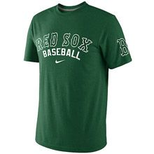 Boston Red Sox Mens St. Patricks Day Tri-Blend Tee by Nike