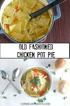 Traditional Pennsylvania Dutch chicken pot pie. This recipe is comfort food at it's finest. A one pot old fashioned dinner with homemade noodles that's sure to please. This is by far one of me and ...