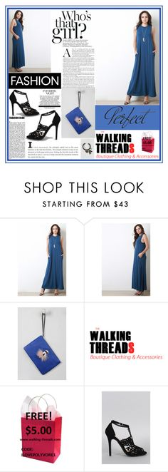 """""""THE WALKING THREADS.16"""" by samirhabul ❤ liked on Polyvore featuring Tag, Anne Michelle and thewalkingthreads"""