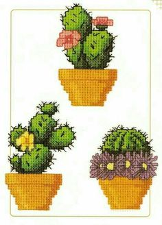 ru / Photo # 1 - Cactus - lelik-spb - Home: Living color Cactus Cross Stitch, Small Cross Stitch, Cute Cross Stitch, Cross Stitch Flowers, Modern Cross Stitch, Cross Stitch Designs, Cross Stitch Patterns, Cross Stitching, Cross Stitch Embroidery