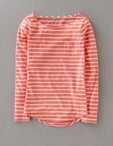 I've spotted this Stripy Breton Peach/White Tomboy Fashion, Fashion Outfits, Womens Fashion, Summer Outfits, Cute Outfits, Summer Dresses, Style Minimaliste, Minimal Fashion, Minimal Style