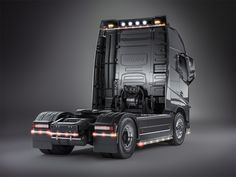 Studio shots of popular European trucks.