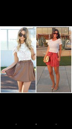 Skater Skirt, Skirts, Fashion, Moda, Skater Skirts, Skirt Outfits, Fasion, Trendy Fashion, Skirt