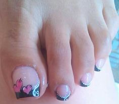 Cute Toe Nails, Toe Nail Art, Fun Nails, Pretty Nails, Acrylic Nails, Manicure, Pedicure Nails, Pedicure Designs, Toe Nail Designs