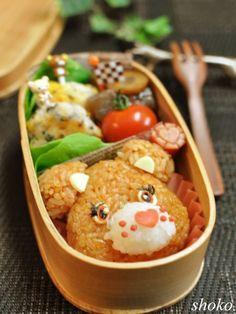Care Bear Kyaraben, Character Bento Lunch © shokoさんの弁当