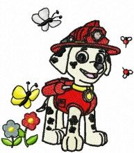 Paw Patrol Puppy dogs embroidery designs