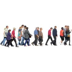 Crowd PNG image with transparent background People Cutout, Cut Out People, People Crowd, People Walking Png, People Png, Photoshop Rendering, Photoshop Tips, Photoshop Elements, Painting People
