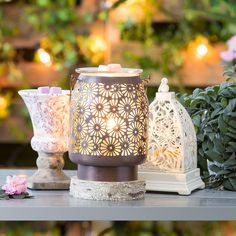 Create your indoor sanctuary with our Spring and Summer decor. https://casies.scentsy.us