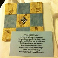 """A pocket prayer"""