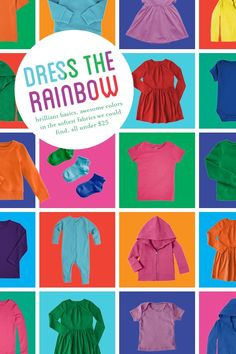 Shop the whole rainbow or stick to their favorite color. Primary is the new go-to for brilliant basics in vibrant colors and super soft fabrics for babies and kids size 0-12 without logos, slogans or sayings � all under $25. Enjoy 20% off plus free shipping on your first order at Primary with code PIN20PCT.
