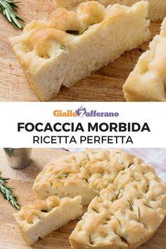 Italian Recipes, Vegan Recipes, Cooking Recipes, My Favorite Food, Favorite Recipes, Focaccia Pizza, High Fat Foods, Love Pizza, Wonderful Recipe