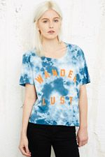 Feather Hearts Wanderlust Tee at Urban Outfitters
