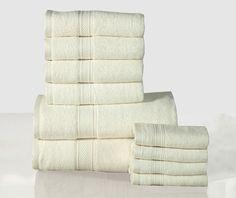Casa Platino 10 Piece Towel Set