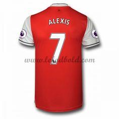 Billige Fodboldtrøjer Arsenal 2016-17 Alexis 7 Kortærmet Hjemmebanetrøje