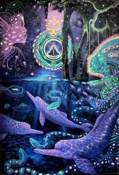 Ruysen Flores Venancino is a grand master shaman who paints highly detailed and beautifully powerful encounters with Mother Ayahuasca. His visionary work depicts the spiritual realm Psychedelic Art, Stoner Art, Trippy Wallpaper, Psy Art, Spirited Art, Mystique, Hippie Art, Visionary Art, Surreal Art