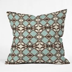 Amazon.com: DENY Designs Rebekah Ginda Design Darling Throw Pillow, 18-Inch by 18-Inch: Home & Kitchen