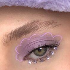 Indie Makeup, Edgy Makeup, Eye Makeup Art, Skin Makeup, Makeup Inspo, Makeup Inspiration, Beauty Makeup, Eyeshadow Makeup, Cool Makeup Looks