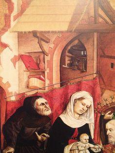 Hans Multscher Anbetung der Könige, 1437 Tafel des Wurzacher Altar Staatliche Gemäldegalerie Berlin: