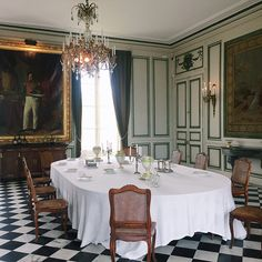 Château de Valençay interior, France .