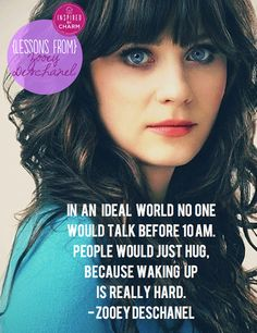 Lessons From: Zooey Deschanel