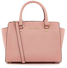 MICHAEL Michael Kors Selma Medium Convertible Satchel, PINK!!!