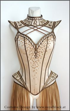 """Couture Corset """"Guardian of Time"""" Cool Outfits, Fashion Outfits, Womens Fashion, Fashion Trends, Party Outfits, Gothic Fashion, Fantasy Gowns, Fantasy Outfits, Fantasy Clothes"""