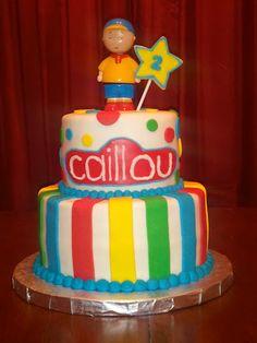 caillou cake - Google Search