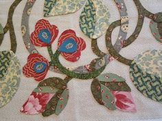 Esther's Blog: Hearts Desire Block 3: Love Entwined Quilt Patterns Free, Applique Patterns, Applique Quilts, Flower Template, Flower Applique, Quilt Blocks, Crafty, Love, Floral