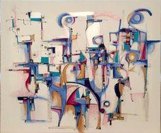 """Saatchi Art Artist Ric Grossman; Painting, """"The Fellowship"""" #art"""