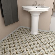 Merola Tile Archivo Mandir 4-7/8 in. x 4-7/8 in. Ceramic Floor and Wall Tile (5.9 sq. ft. / case)-FPEARCMR - The Home Depot
