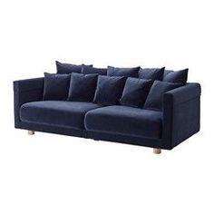 STOCKHOLM 2017 3:n istuttava sohva, Sandbacka tummansininen - Sandbacka tummansininen - IKEA