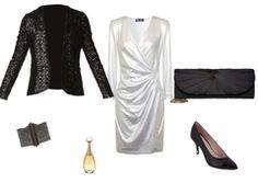 White evening dress by frangipane