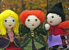 The Sanderson Sisters from Hocus Pocus! This was one of my favorite Halloween films growing up!