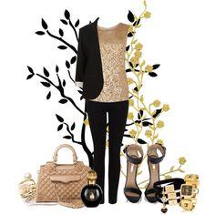 A fashion look from April 2012 featuring sleeveless shirts, blazer jacket and stretch jeans. Black Boyfriend Blazer, Fashion Addict, Girl Fashion, Senior Girls, Dress Me Up, Style Me, Personal Style, Fashion Jewelry, Style Inspiration