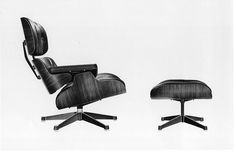 #Eames 670 Lounge Chair and 671 Ottoman