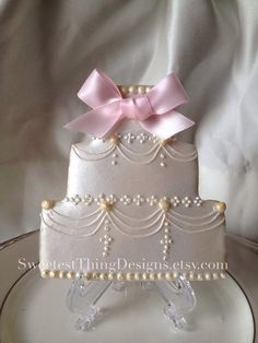 12 Elegant Wedding Cake Cookies/ Bridal Shower Favor/ Wedding Favor By The Sweetest Thing - Designs and Events on Etsy, $60.00