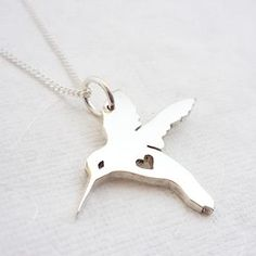 Hummingbird Necklace - We Heart This